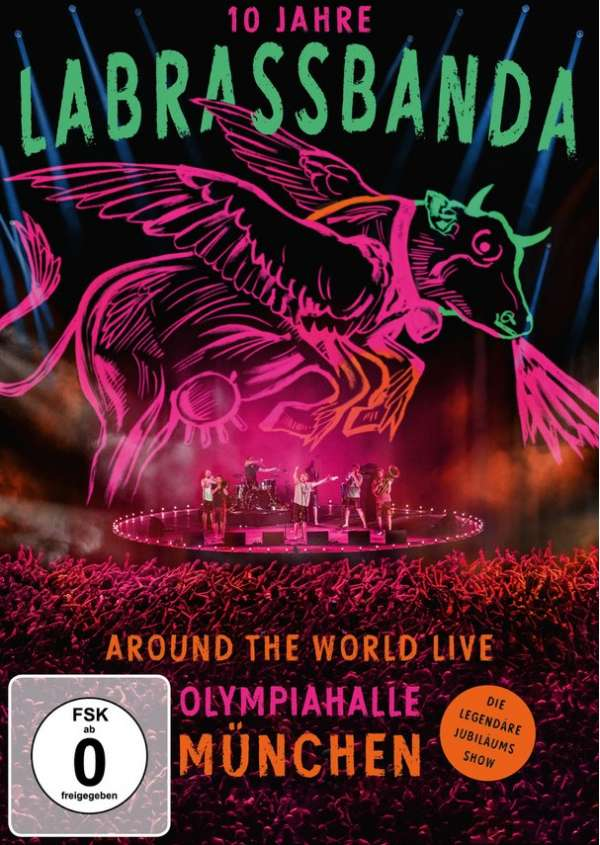 DVD LABRASSBANDA - Around the World (Live)