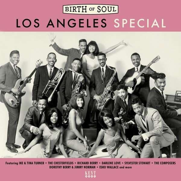CD V/A - BIRTH OF SOUL - LOS ANGELES SPECIAL