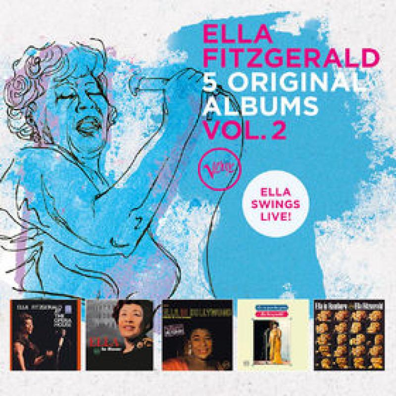 Fitzgerald Ella - CD 5 ORIGINAL ALBUMS - VOL. 2 (ELLA SWINGS LIVE)