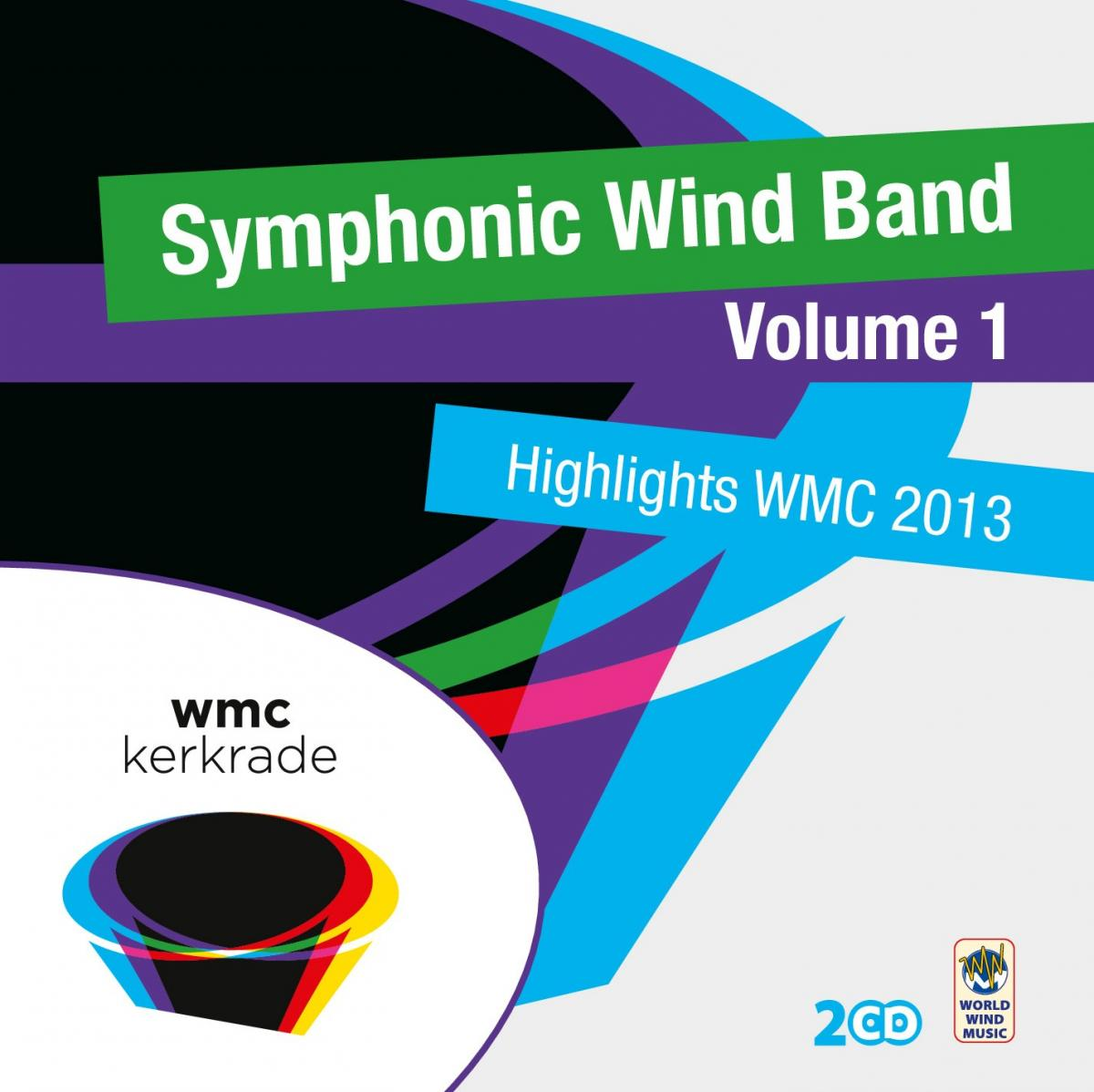 CD V/A - SYMPHONIC WIND BAND VOL.1