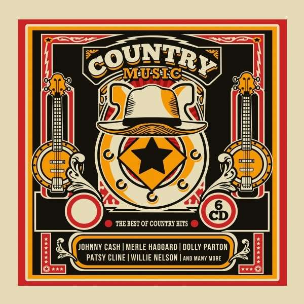CD V/A - COUNTRY MUSIC - THE BEST OF COUNTRY HITS