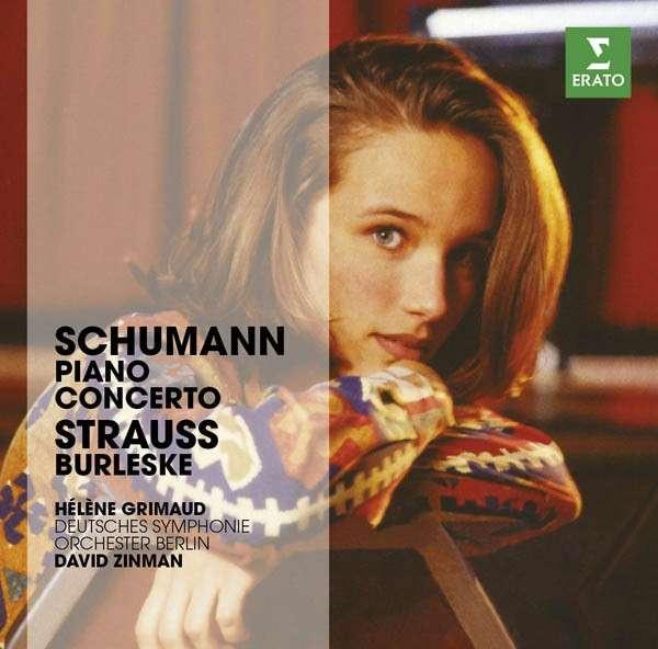 CD GRIMAUD, HELENE - THE ERATO STORY. STRAUSS / SCHUMANN: BURLESQUE, PIANO CONCERTO