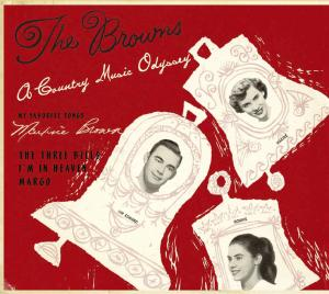 CD BROWNS - COUNTRY MUSIC ODYSSEY