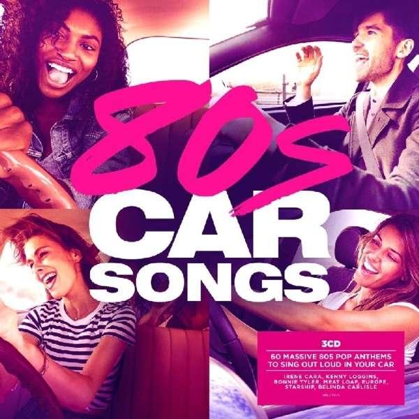 CD V/A - 80'S CAR SONGS