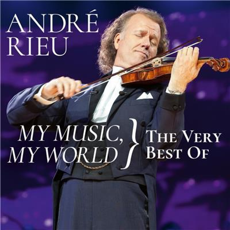 CD RIEU ANDRE - MY MUSIC-MY WORLD-THE...