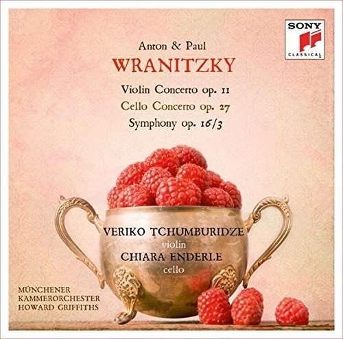 CD WRANITZKY, A. & P. - A. Wranitzky: Violin Concerto