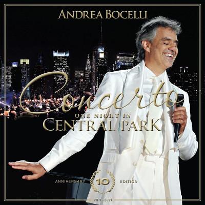 Andrea Bocelli - CD Concerto: One Night In Central Park (10th Anniversary)
