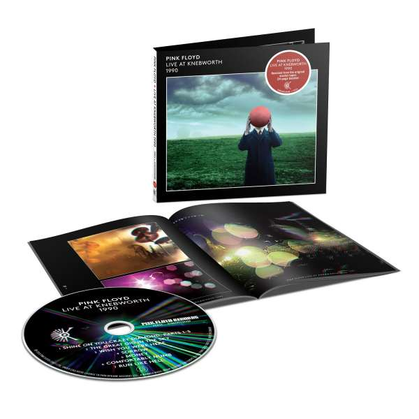 Pink Floyd - CD LIVE IN KNEBWORTH 1990