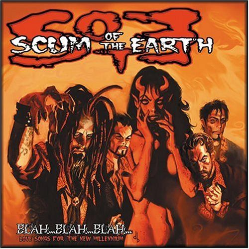 CD SCUM OF THE EARTH - BLAH BLAH BLAH