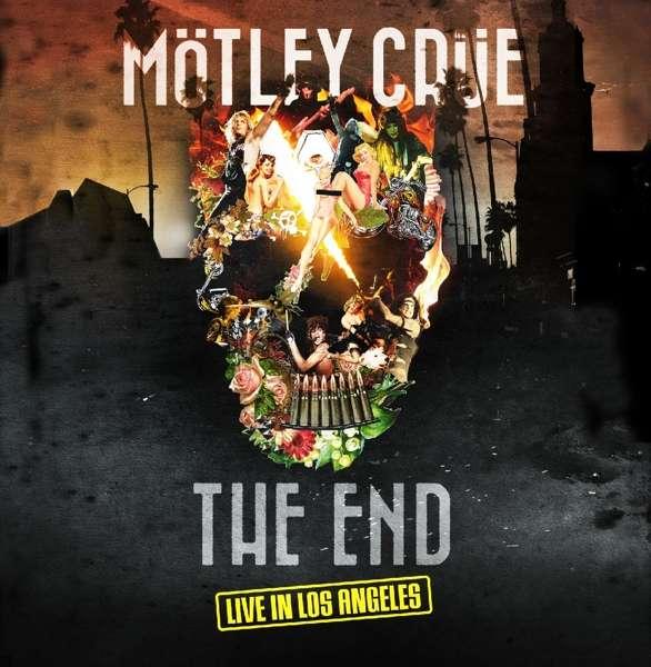 Motley Crue - DVD THE END - LIVE IN LOS../CD