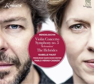 CD MENDELSSOHN-BARTHOLDY, F. - VIOLIN CONCERTO/SYMPHONY NO.5