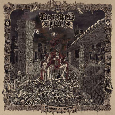 CD DESERTED FEAR - Kingdom Of Worms (Re-issue 201
