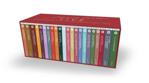 CD CALLAS, MARIA - MARIA CALLAS LIVE REMASTERED LIVE RECORDINGS 1949-1964 (42CD+3 BLU-RAY+216 PAGE BOOKLET BOX SET)