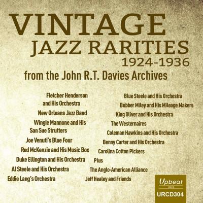 CD V/A - VINTAGE JAZZ RARITIES - JOHN R T DAVIES ARCHIVES