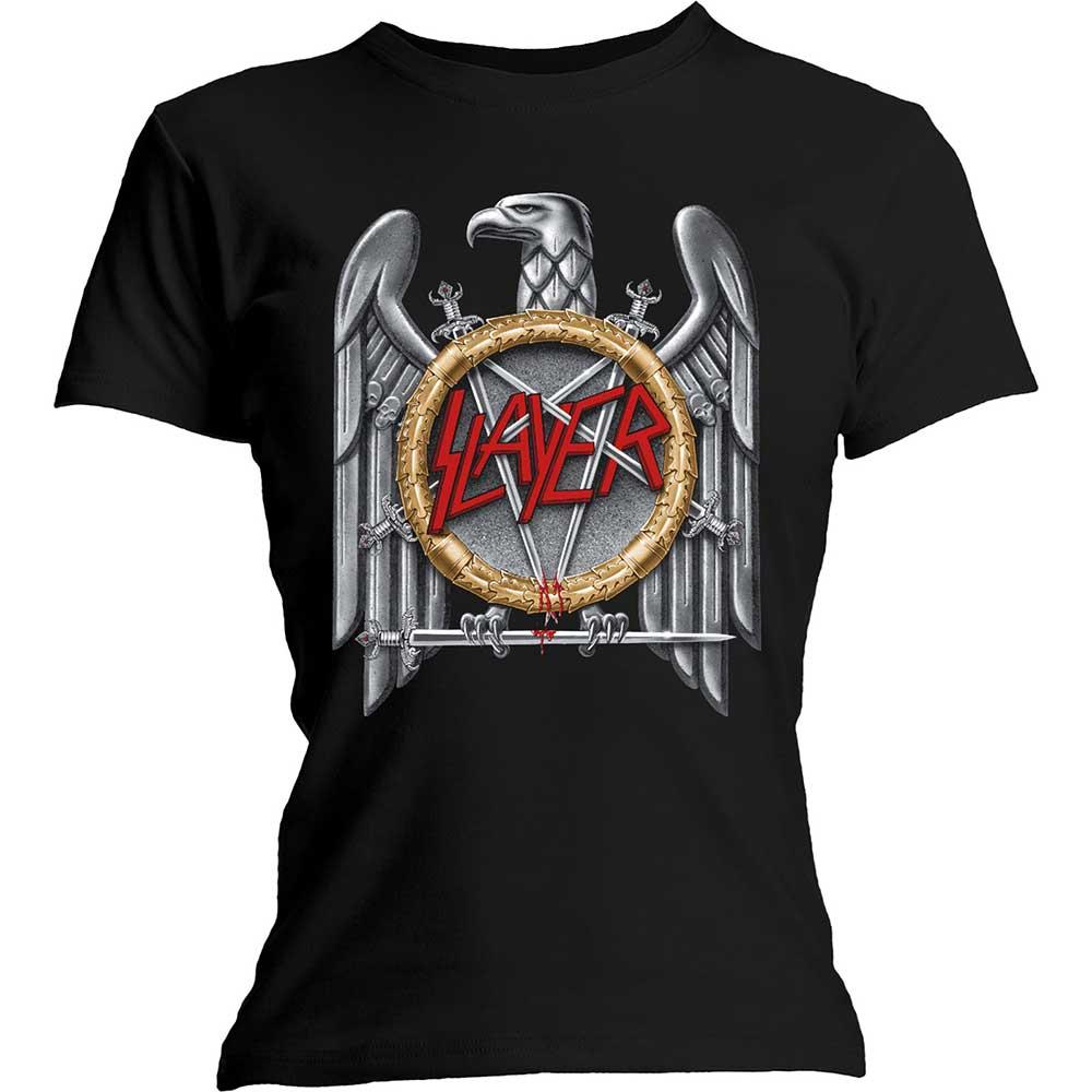 Slayer - Tričko Silver Eagle - Žena, Čierna, XXL