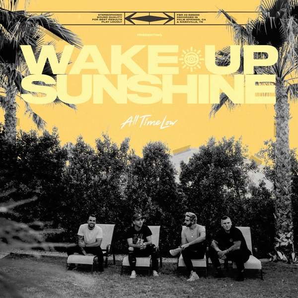 All Time Low - Vinyl WAKE UP, SUNSHINE