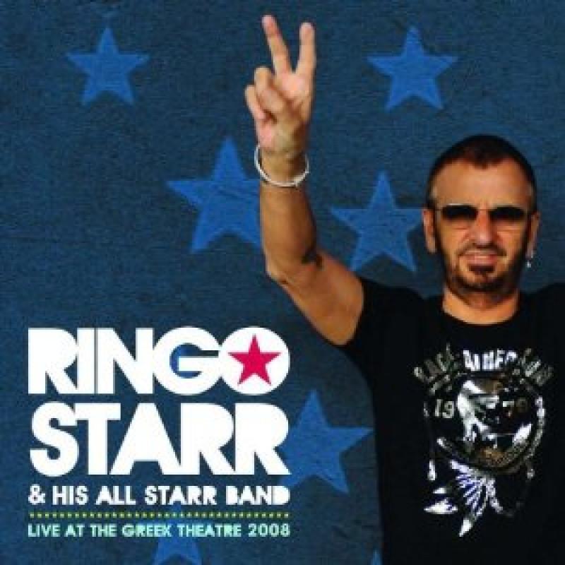 Ringo Starr - CD LIVE AT THE GREEK THEATRE