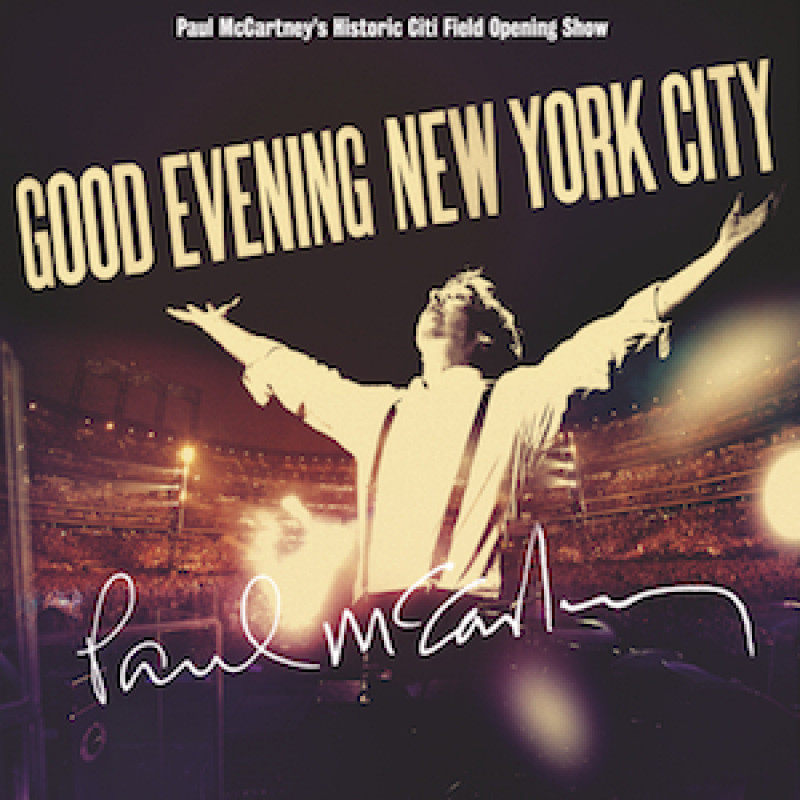 Paul McCartney - CD GOOD EVENING NEW YORK CITY
