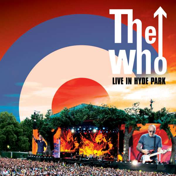 DVD WHO THE - LIVE AT HYDE PARK/2CD