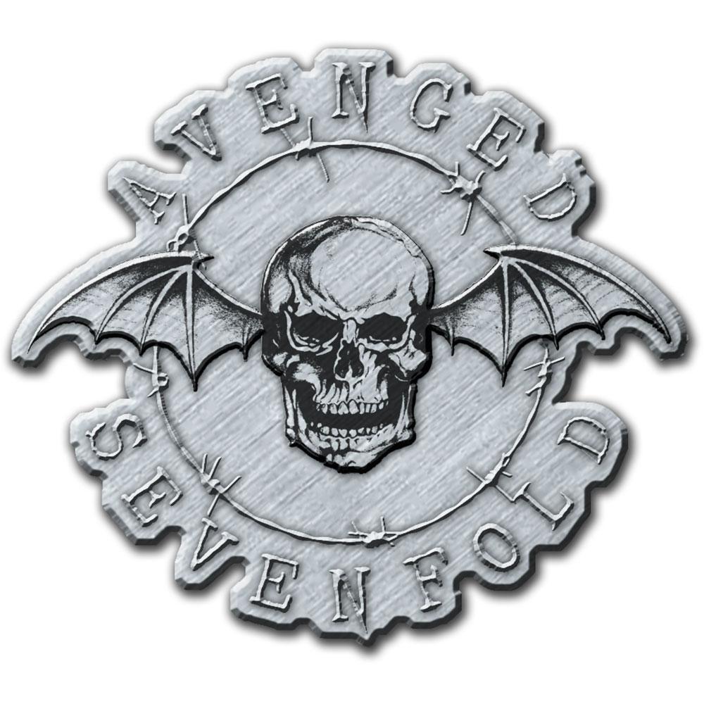 Avenged Sevenfold A7X - Odznak Death Bat