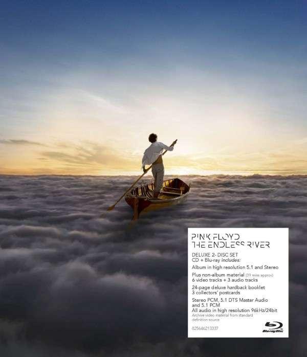 Pink Floyd - CD THE ENDLESS RIVER (CD+BLU-RAY)