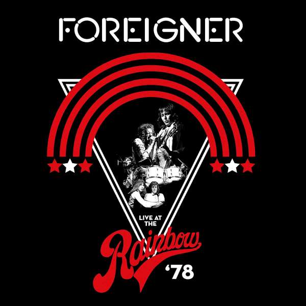 CD FOREIGNER - LIVE AT THE RAINBOW '78