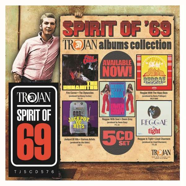 CD VARIOUS ARTISTS - SPIRIT OF 69: THE TROJAN ALBUMS COLLECTION