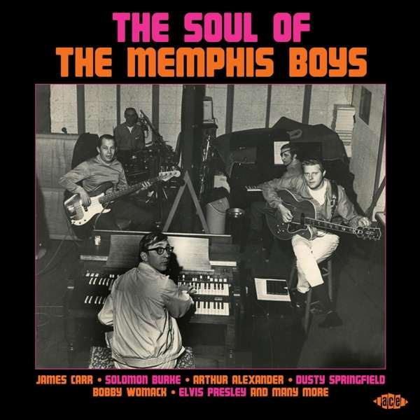 CD V/A - SOUL OF THE MEMPHIS BOYS
