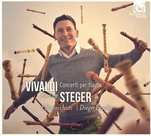 CD VIVALDI, A. - CONCERTI PER FLAUTO