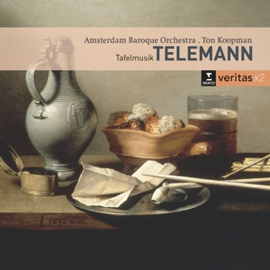 CD KOOPMAN, TON - TELEMANN: CHAMBER MUSIC / TAFELMUSIK