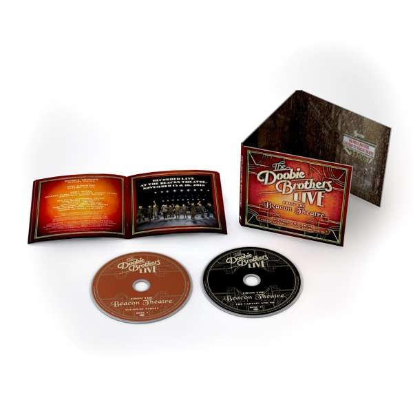 CD DOOBIE BROTHERS - LIVE FROM THE BEACON THEATRE