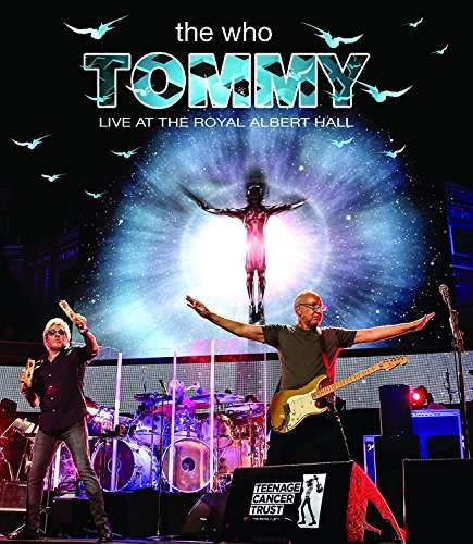 DVD WHO THE - TOMMY LIVE AT THE ROYAL