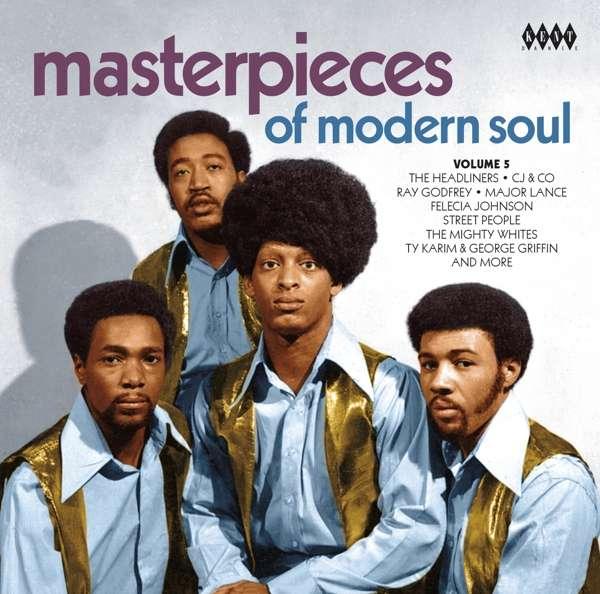 CD V/A - MASTERPIECES OF MODERN SOUL VOLUME 5