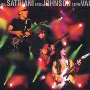 CD SATRIANI/JOHNSON/VAI - G3 - LIVE IN CONCERT