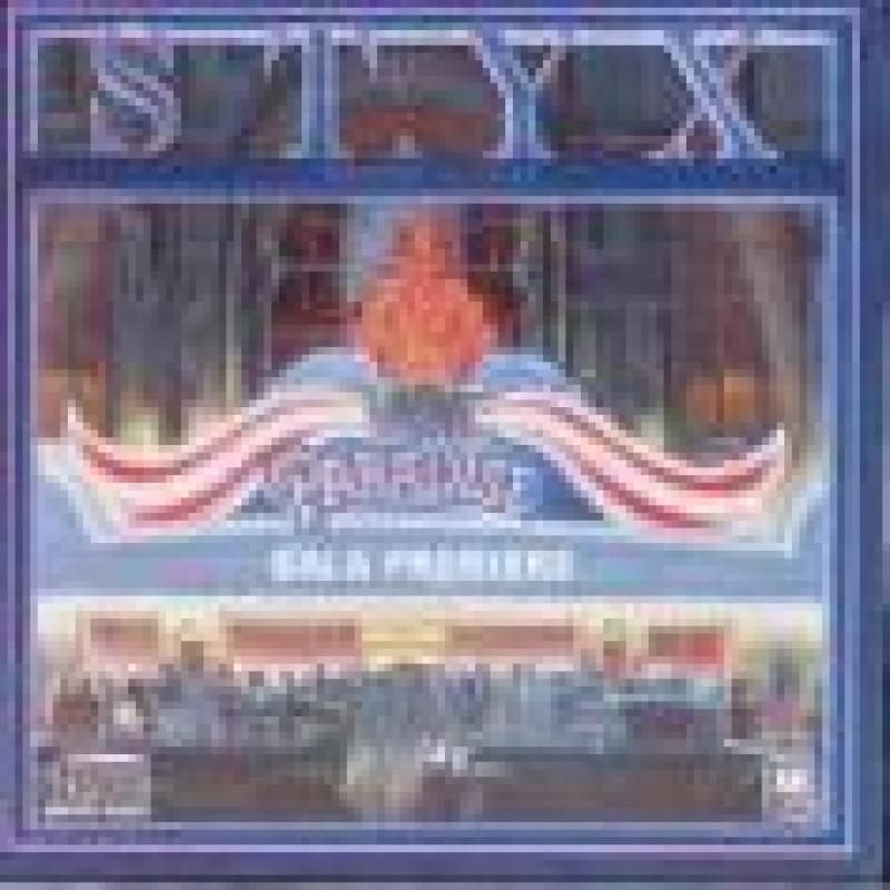 CD STYX - PARADISE THEATRE