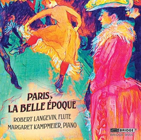 CD LANGEVIN, ROBERT - PARIS, LA BELLE EPOQUE