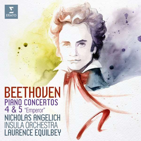 CD ANGELICH/INSULA ORCHESTRA/EQUILBEY - BEETHOVEN PIANO CONCERTOS 4 & 5