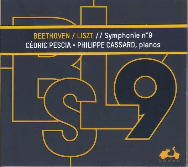 CD PESCIA, CEDRIC/PHILIPPE C - BEETHOVEN SYMPHONY NO.9 TRANSCRIBED