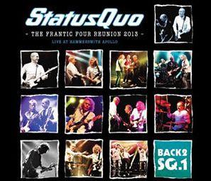 Status Quo - CD LIVE AT HAMMERSMITH
