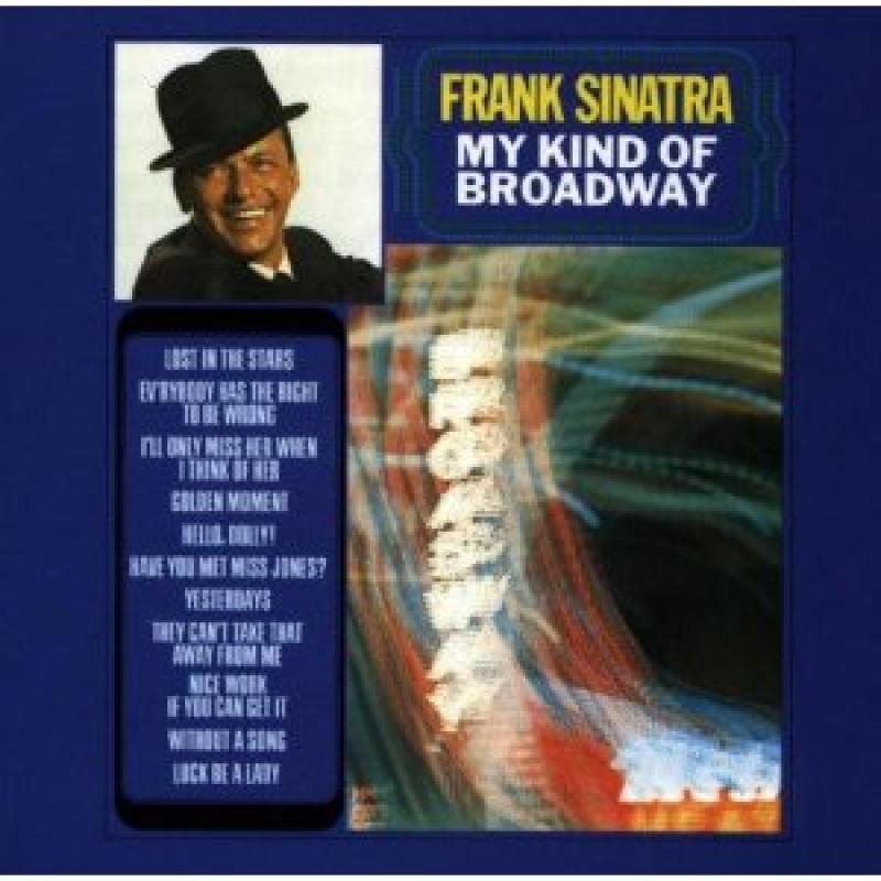 Frank Sinatra - CD MY KIND OF BROADWAY