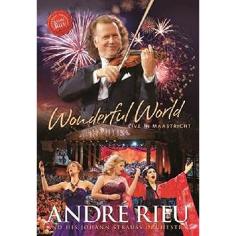 Blu-ray RIEU ANDRE - WONDERFUL WORLD - LIVE IN MAASTRICHT
