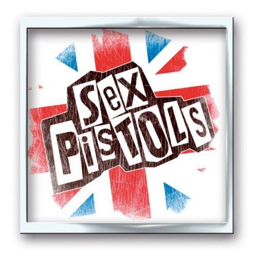 THE SEX PISTOLS - Odznak Union Jack