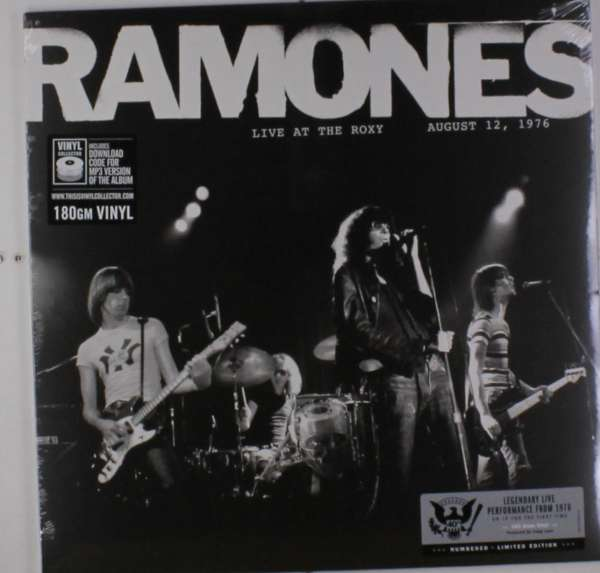 Vinyl RAMONES, THE - LIVE AT THE ROXY 08/12/1976