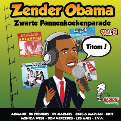 CD V/A - ZENDER OBAMA 2