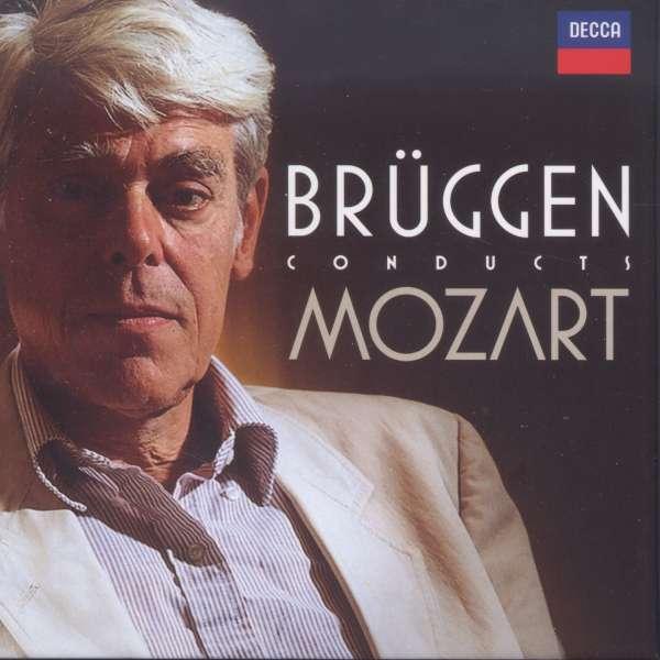 CD MOZART, W.A. - BRUGGEN CONDUCTS MOZART