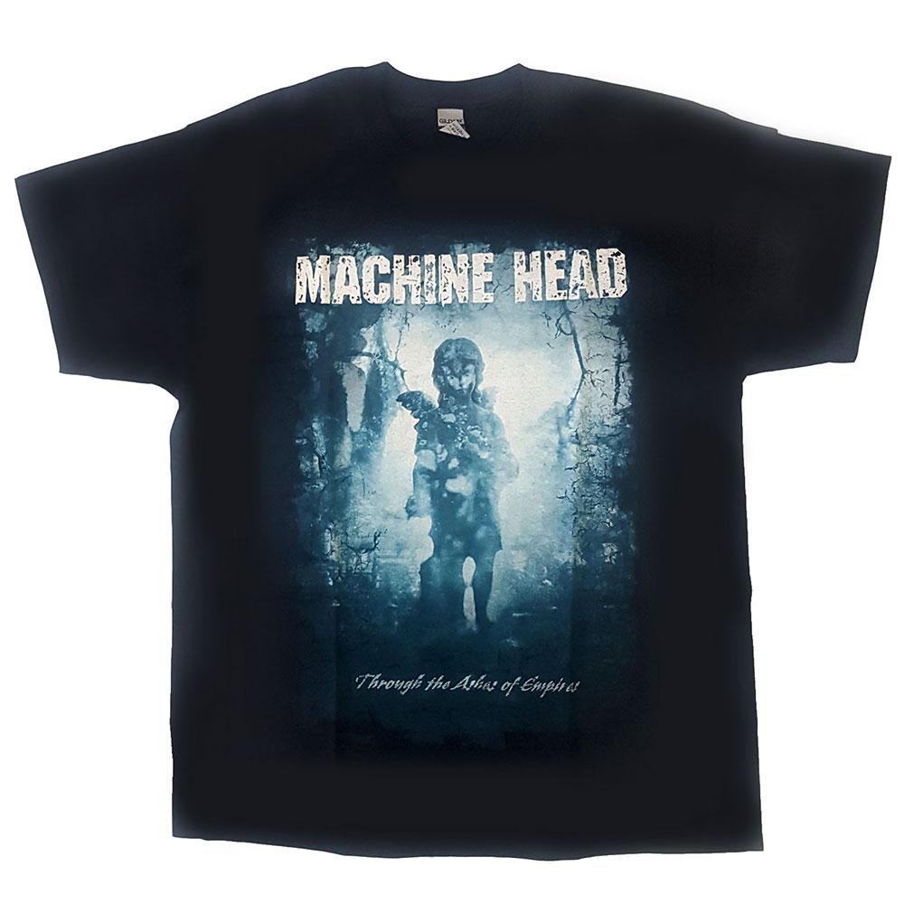 Machine Head - Tričko Through The Ashes of Empires - Muž, Unisex, Čierna, S