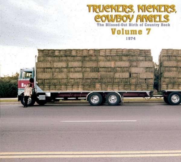 CD V/A - TRUCKERS, KICKERS, COWBOY ANGELS VOL.7