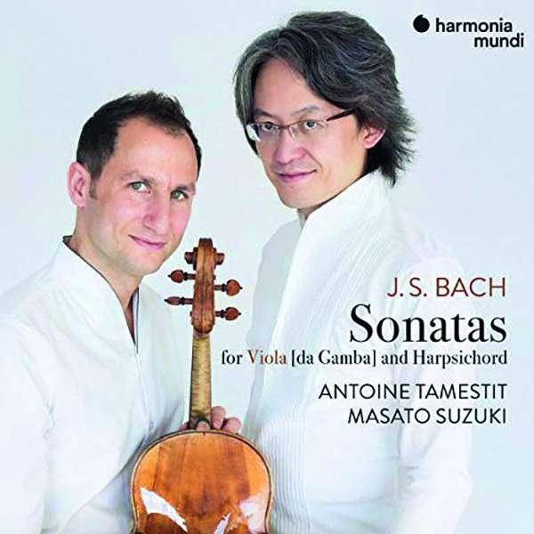 CD BACH, J.S. - SONATAS FOR VIOLA DA GAMBA AND HARPSICHORD