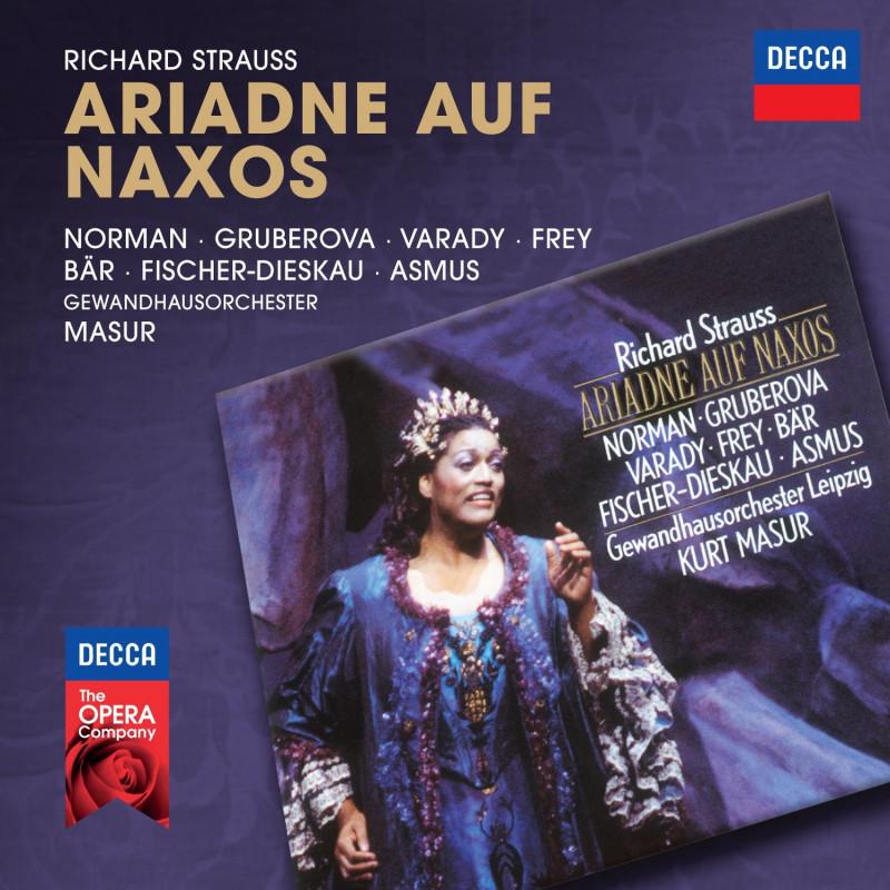 CD NORMAN/MASUR/GOL - R.Strauss: Ariadna na Naxu