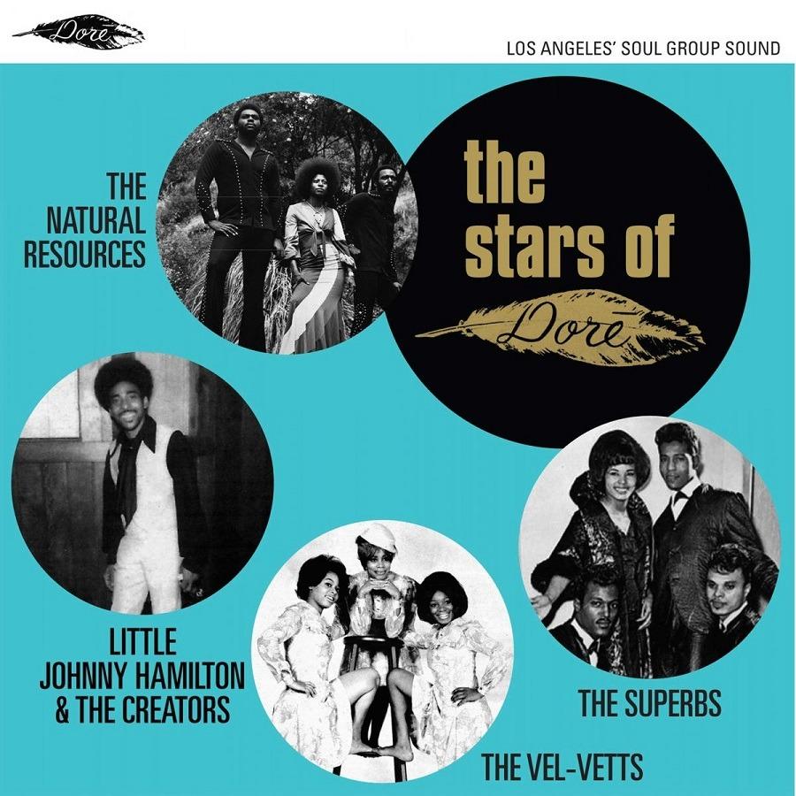 Vinyl V/A - STARS OF DORE - LOS ANGELES' SOUL GROUP SOUND
